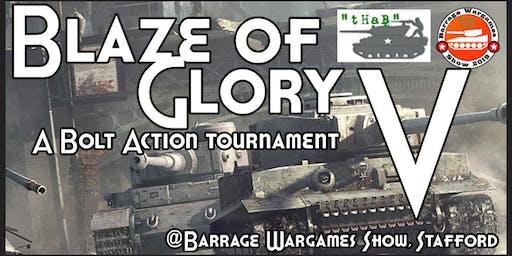 """Blaze of Glory"" V"
