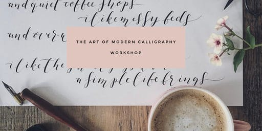 The Art of Modern Calligraphy Workshop