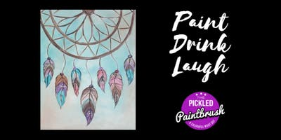 Painting Class - Dream Catcher - March 23, 2018*