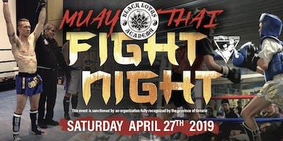 Black Lotus Muay Thai Fight Night