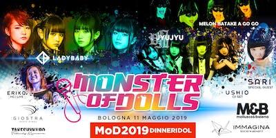 Monster of Dolls 2019 - MoD2019 + DINNERIDOL