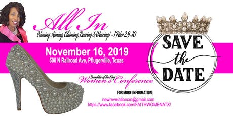 All In - The King's Daughter Women's Conference tickets