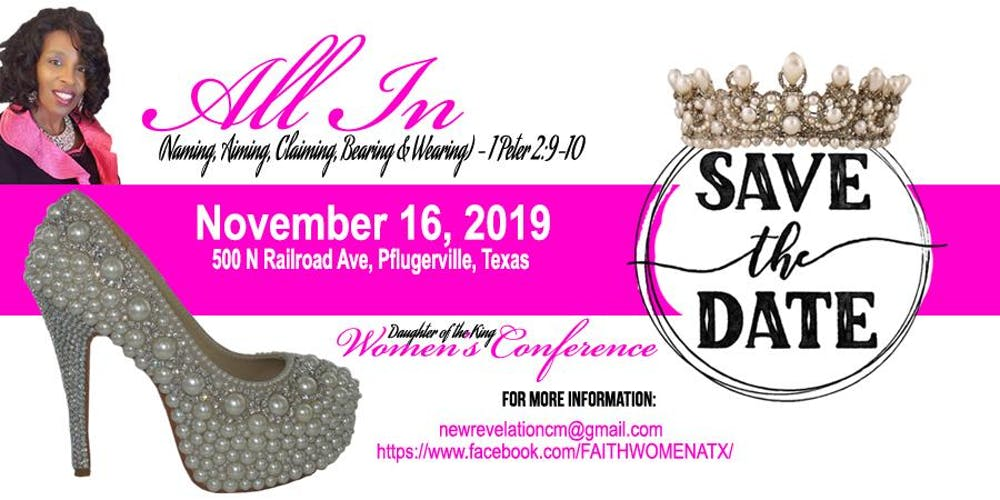 04b90a69 All In - The King's Daughter Women's Conference Tickets, Sat, Nov 16, 2019  at 9:00 AM | Eventbrite