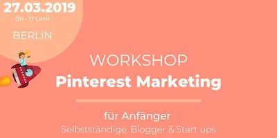 Workshop - Pinterest Marketing für Selbstständige, Blogger & Start ups