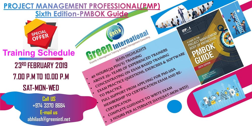 Become A Project Management Professional Pmp 6th Editionpmi Usa