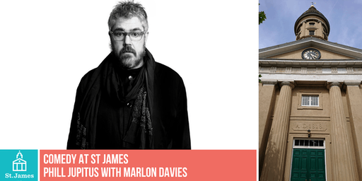 Comedy at St James: Phill Jupitus