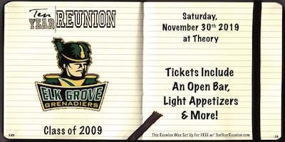 Elk Grove High School Class of 2009: Ten Year Reunion