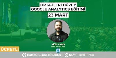 İleri Düzey Google Analytics Eğitimi [ÜCRETLİ