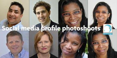 Social media profile photo shoot inc 5 digital pho