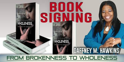 From Brokenness to Wholeness Book Signing