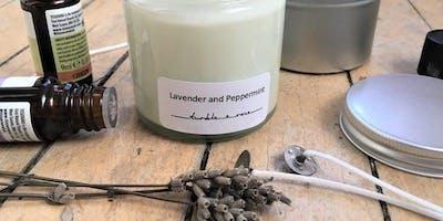 Botanical candle workshop  - Mother\
