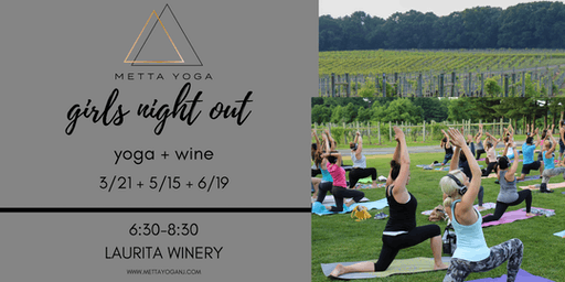 Yoga + Wine - Girls Night Out