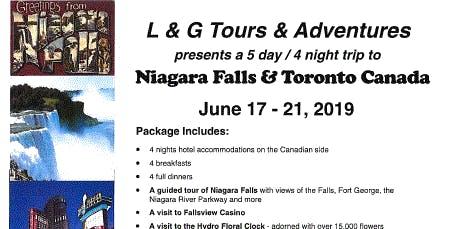 Niagra Falls & Toronto Canada