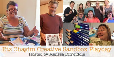 Etz Chayim Creative Sandbox Playday - July 2019