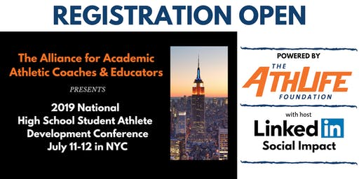 2019 National High School Student Athlete Development Conference