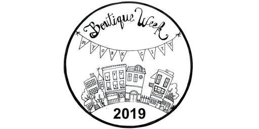 Boutique Week 2019 Merchant Registration