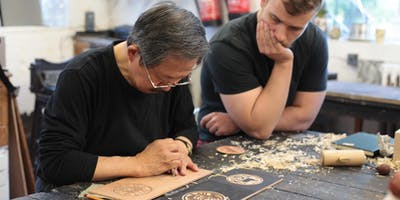 3-day Intensive Carving for Japanese Woodblock Workshop in Tokyo