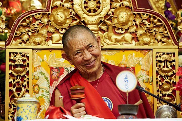 H.E. GARCHEN RINPOCHE: The Great Amitabha Drupchen - Đại Pháp Hội A Di Đà image