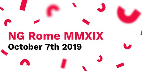 NG ROME MMXIX - ANGULAR CONFERENCE tickets