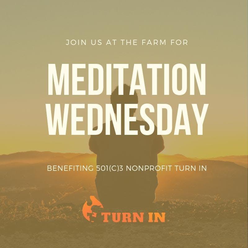 Meditation in the TeePee
