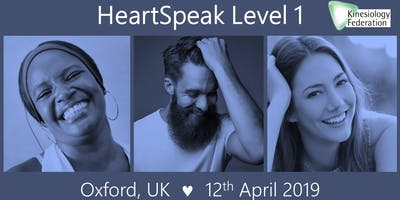 HeartSpeak Level 1: 12th April 2019 - Oxford, UK