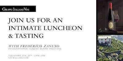 Lunch with Frederico Zanuso