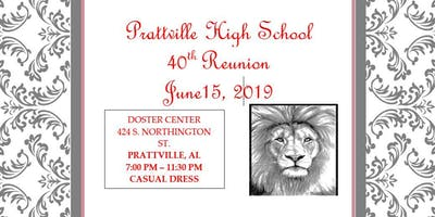 Prattville High Class of 1979 40th Reunion