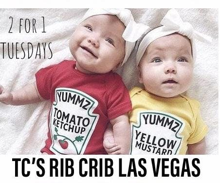 Two Fer Tuesday At Tc S Rib Crib Las Vegas 19 Feb 2019
