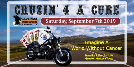 Cruzin' 4 a CURE  Poker Run