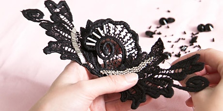 Beaded Lace Fascinator Workshop  tickets