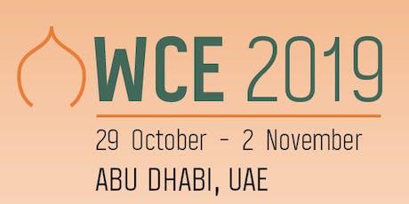 World Congress of Endourology 2019 tickets
