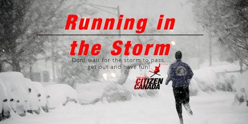 Citizen Canada : Running in the storm
