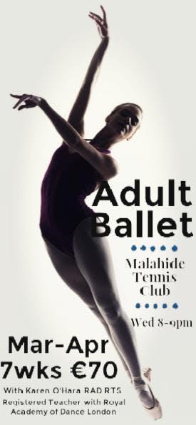 Adult Ballet with Karen - 7 week Term