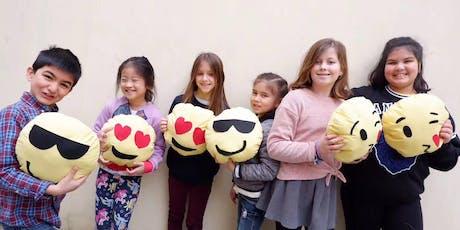 Craft'd Bus Workshops: Sew an Emoji Cushion! tickets