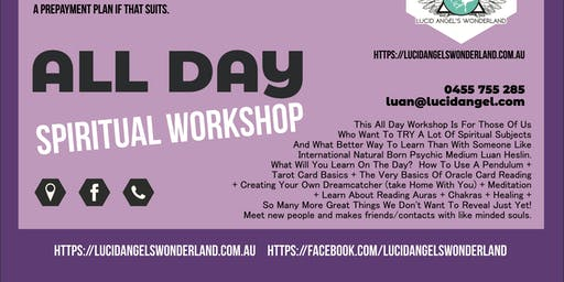 All Day Spiritual Workshop