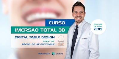 Imersão TOTAL Digital Smile Design (DSD) Oficial - Santos - SP - ABRIL 2019