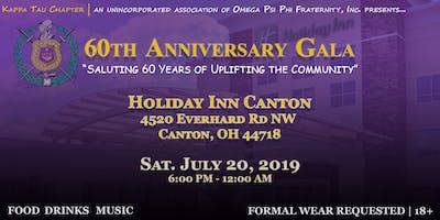 Kappa Tau's 60th Anniversary Gala