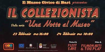"""""""Il Collezionista"""", Game Experience al Museo Civico"""