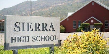Sierra High School Class of 1999 - 20 Year Reunion tickets