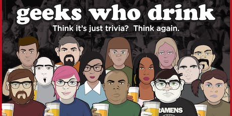 Geeks Who Drink Trivia @ Shannon Brewery tickets