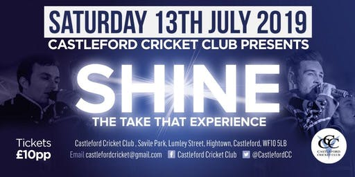 SHINE at Castleford Cricket Club