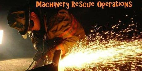 16 hr Machinery Rescue Operations Course (Estero, FL) 8/20 & 8/21 tickets