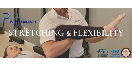 Stretching and Flexibility - Texas tickets
