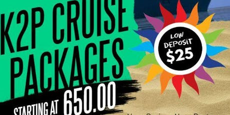 K2P Family and Friends Cruise on Carnival Mardi Gras tickets