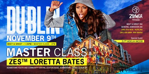 Master Class with Loretta Bates and Special Guest- Adela Iacob