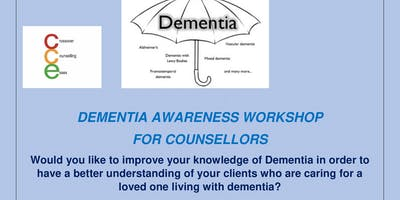 Dementia Awareness Workshop for Counsellors