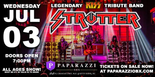LEGENDARY KISS TRIBUTE: Strutter LIVE in the Outer Banks!