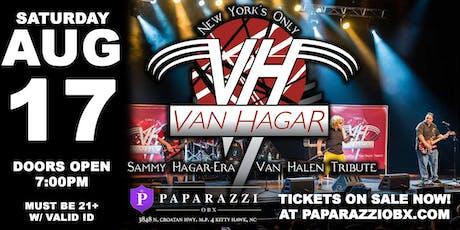 VAN HALEN TRIBUTE: Van Hagar LIVE in the Outer Banks! tickets