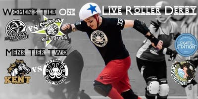 British Champs 2019 - T1W & T2M(S) Roller Derby Double Header