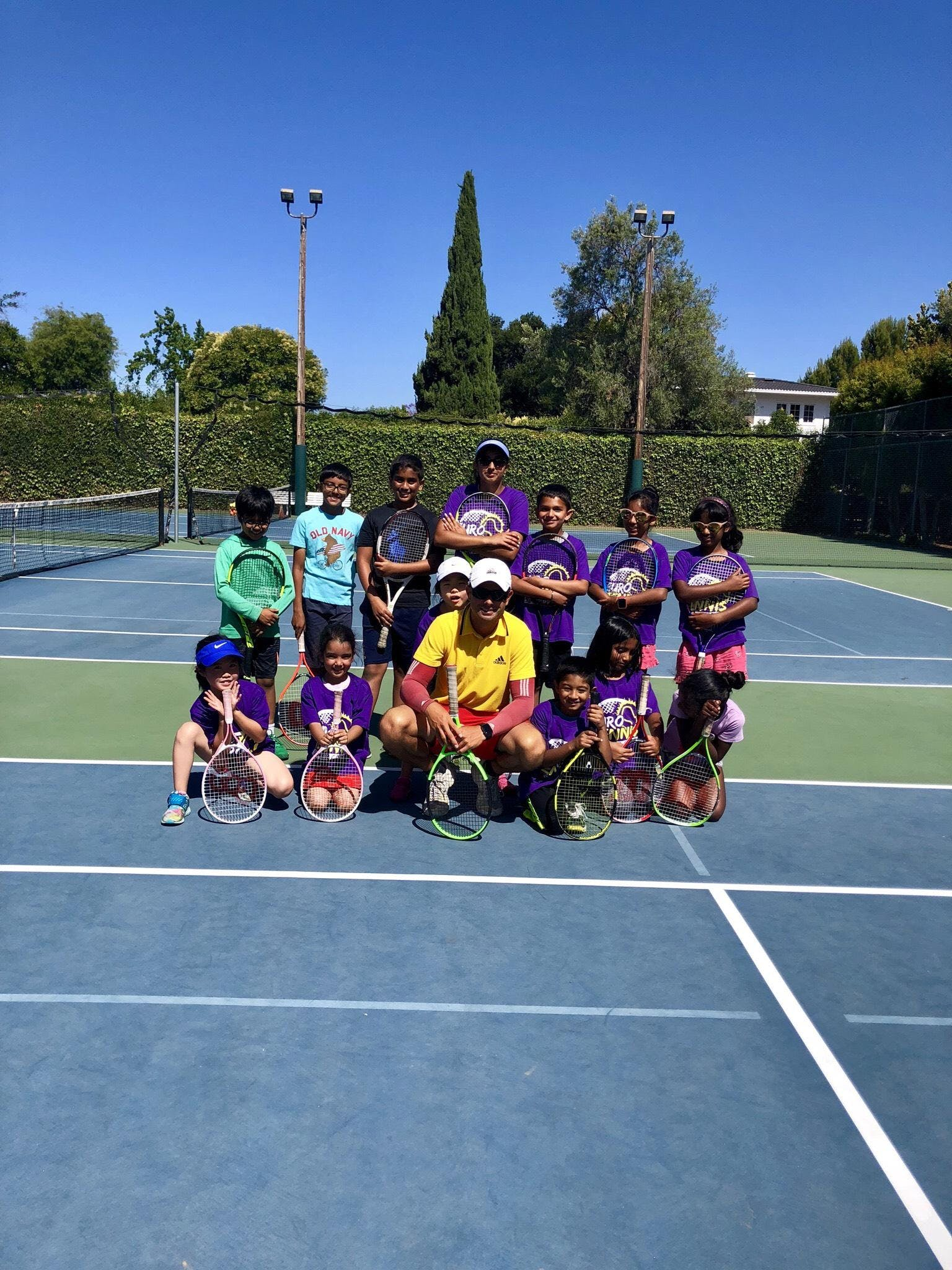 Paid Fun After School Tennis Program at Gardn